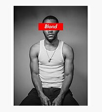 Blond Frank Photographic Print