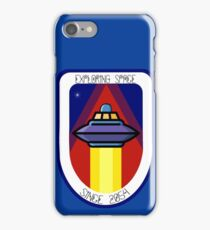 Exploring Space Since 2054 Patch iPhone Case/Skin