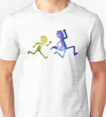 Rick and Morty running  T-Shirt