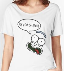 I'm Pickle Rick! Women's Relaxed Fit T-Shirt