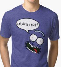 I'm Pickle Rick! Tri-blend T-Shirt