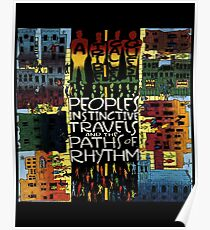 Tribe Called Quest - Peoples Instinctive Travels and The Paths of Rhythms Poster