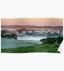 Morning Mist - Nairne Poster