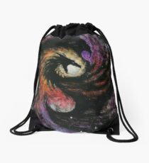 Dragon Galaxy Drawstring Bag