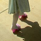 pink shoes by Sarah Wheaton