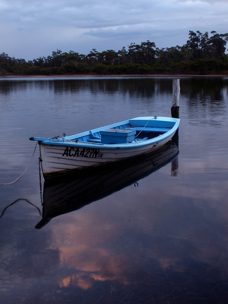 pretty boat by Michael Gray