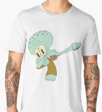 Squidward dabbing Men's Premium T-Shirt
