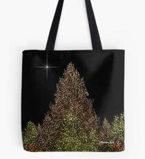 Peace and Joy ~ Lights of Christmas  Tote Bag
