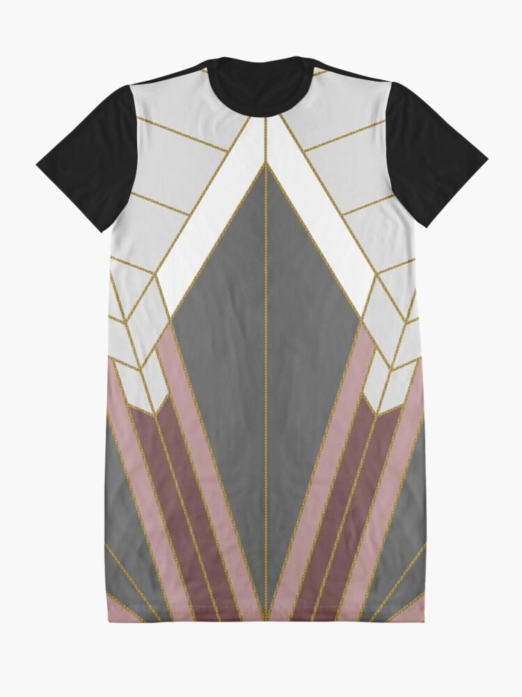 Alternative Ansicht von ART DECO G1 T-Shirt Kleid