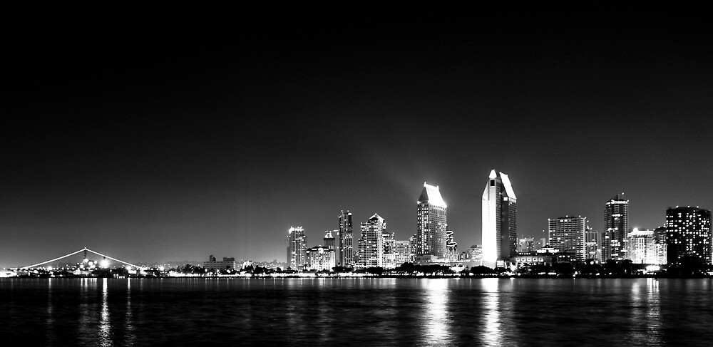 San Diego Skyline by Scott Burns