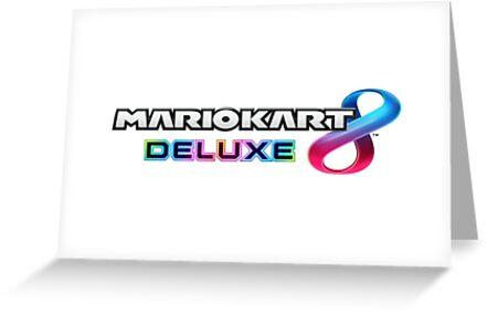Mario Kart 8 Deluxe Logo by stackdown