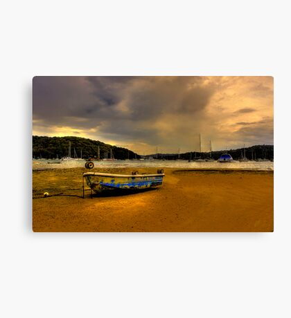 Approaching Storm No 2 Canvas Print
