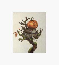 The Happy Pumpkin Sparrow Art Board