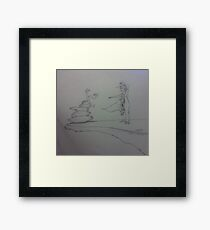 Chi (large) Framed Print