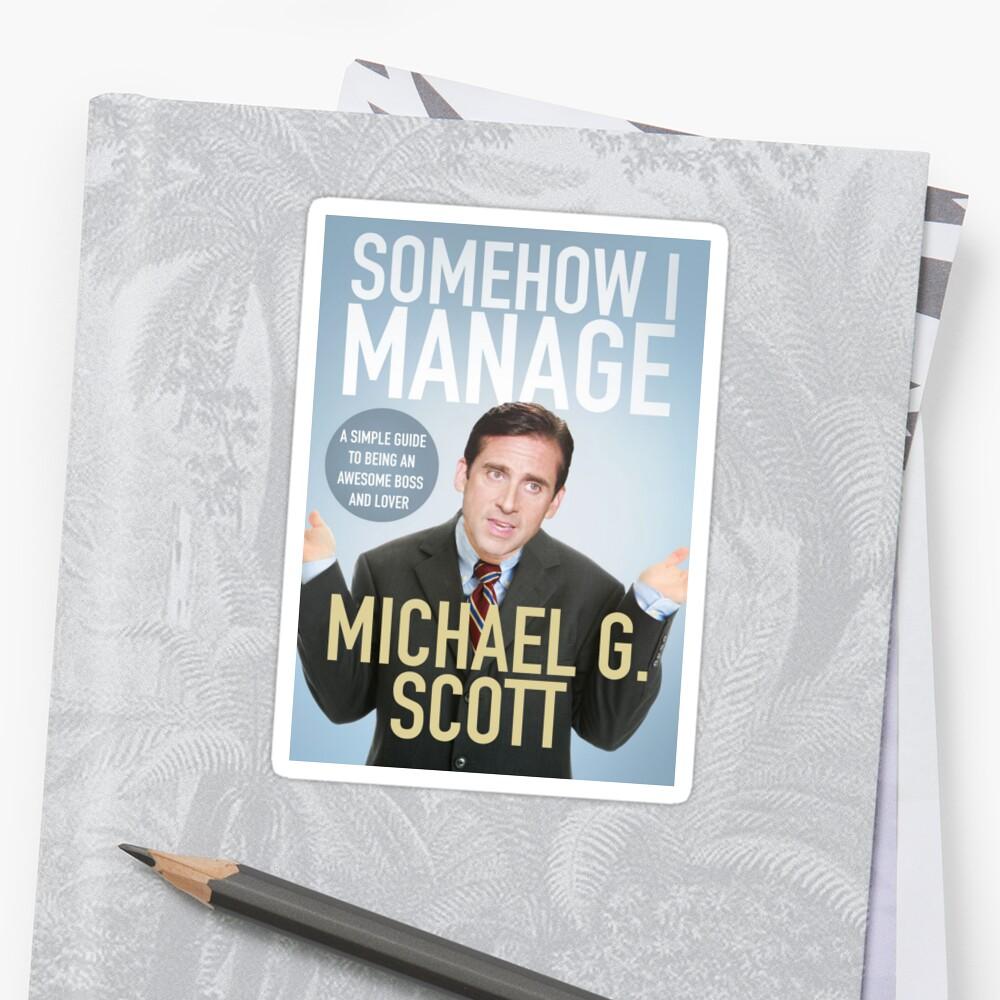 somehow i manage michael scott pdf