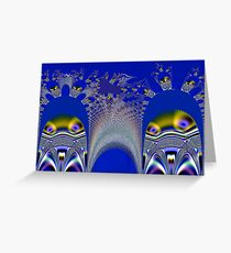 Ghost Invasion Greeting Card
