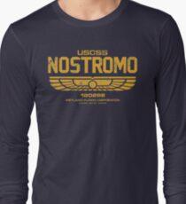 Nostromo (USCSS) Gold Long Sleeve T-Shirt