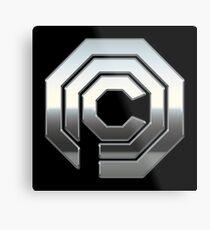 Robocop OCP Metal Print