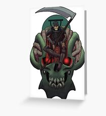 Death - Tarot Greeting Card