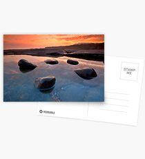 Five Rocks in a Rockpool Postcards