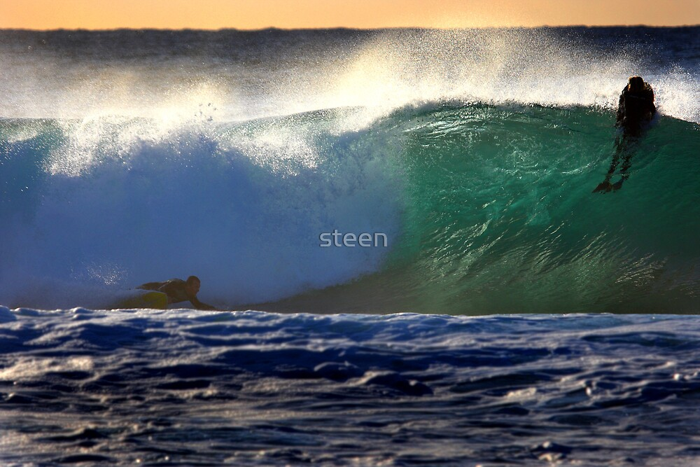 The Bottom Turn by steen