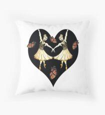 The Sugar Plum Fairy Throw Pillow