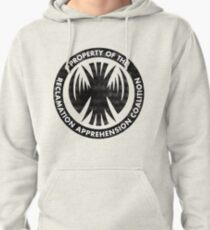 Property of the RAC Distressed- Reclamation Apprehension Coalition Pullover Hoodie