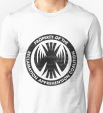 Property of the RAC Distressed- Reclamation Apprehension Coalition T-Shirt