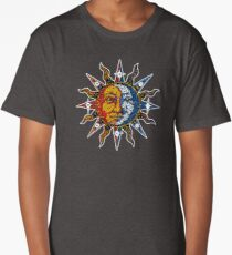 Celestial Mosaic Sun/Moon Long T-Shirt