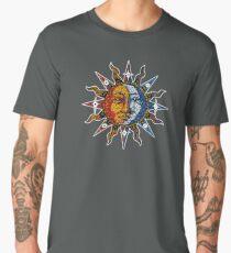 Celestial Mosaic Sun/Moon Men's Premium T-Shirt