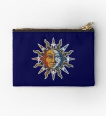 Celestial Mosaic Sun/Moon Studio Pouch
