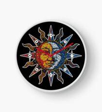Celestial Mosaic Sun/Moon Clock