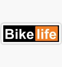 Bike Life PornHub logo Sticker