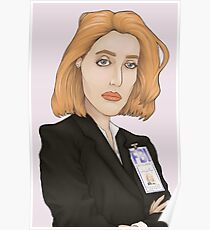 Special Agent Dana Scully Poster