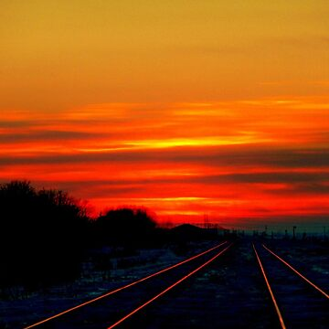 """Scarlet Rails""... by umpa1"