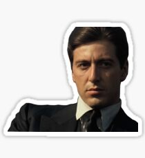 michael corleone Sticker