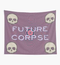 Pink and Blue Future Corpse Wall Tapestry