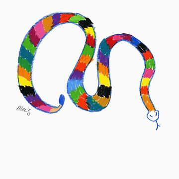 Rainbow Snake by meels