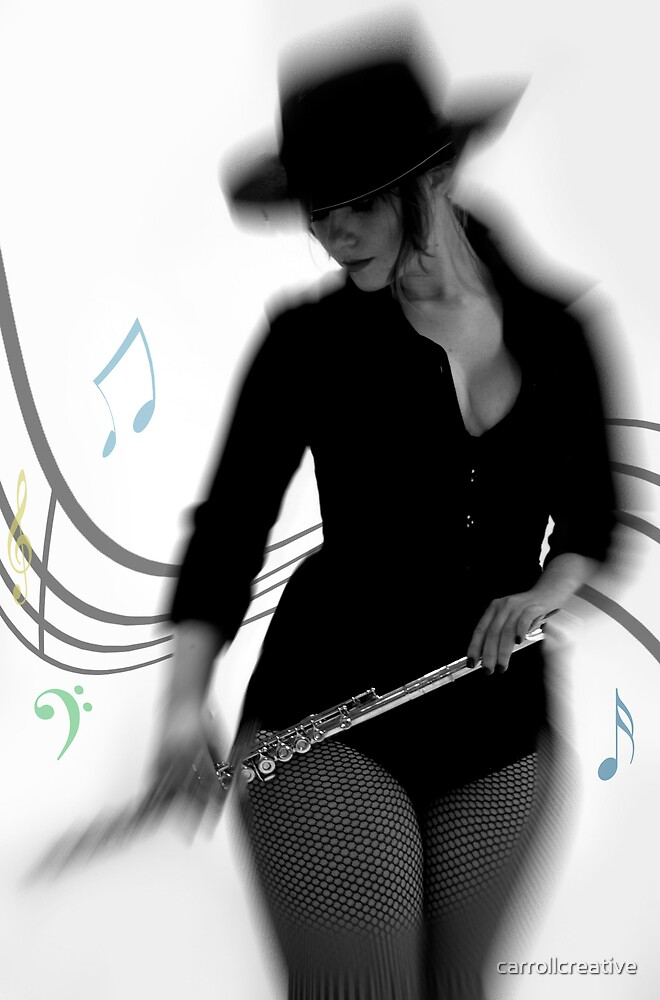 Flute and Fedora 2 by carrollcreative