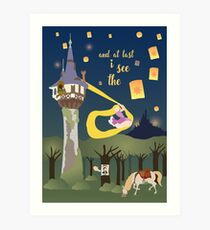And at last... i see the light Art Print