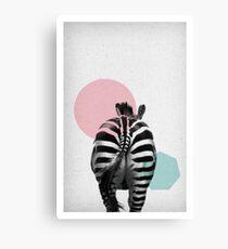 Zebra 01 Leinwanddruck