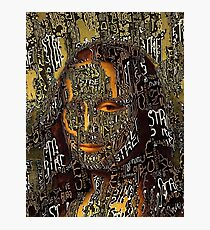 Gioconda graffiti Photographic Print