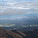 View from Pikes Peak, Elevation 14,200 Feet, Colorado Springs, Colorado by lenspiro