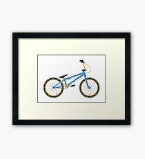 Anatomy of a BMX Bike Framed Print