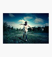 Evil Zombie Monster Photographic Print