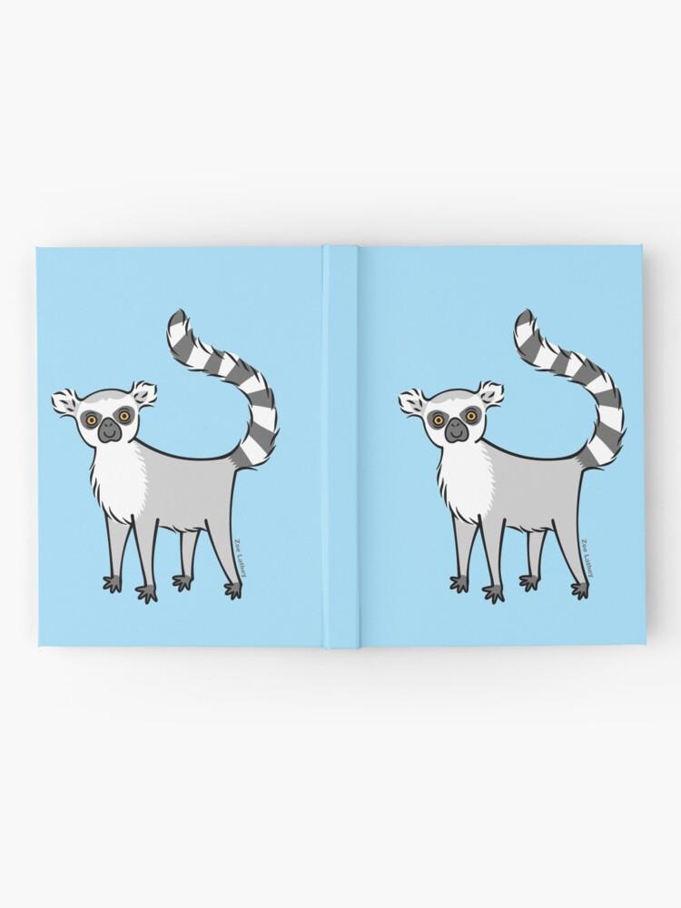 Alternate view of Ring Tailed Lemur Hardcover Journal