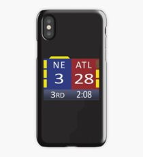 The Scoreboard iPhone Case/Skin