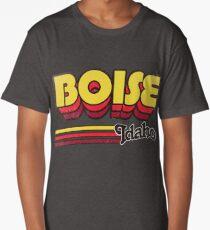 Boise, ID | City Stripes Long T-Shirt
