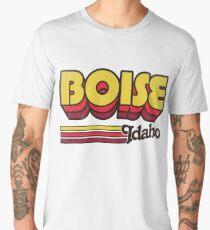 Boise, ID | City Stripes Men's Premium T-Shirt