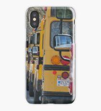 school buses iPhone Case/Skin
